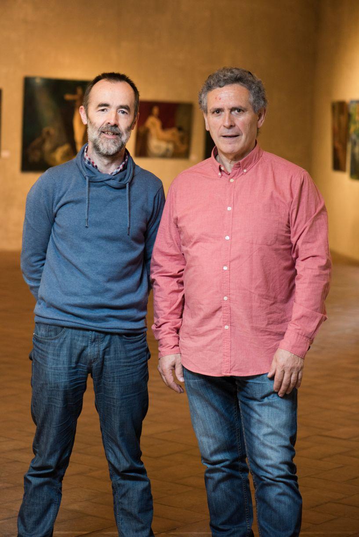 Xabier Gaztelumendi e Iñaki Murua