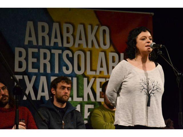 Oihane Pereak irabazi du Arabako Bertsolari Txapelketako laugarren finalaurrekoa