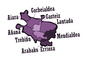 araba bertso kuadrilla artekoa eskualdeen mapa