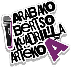 2016ko Arabako Bertso-kuadrilla artekoa logoa