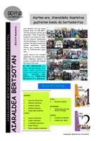 Aiaraldeko urtekaria 2013-14