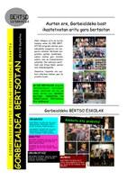 Gorbeialdea urtekaria 2014-15