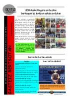 Gorbeialdeko Urtekaria 2012-2013