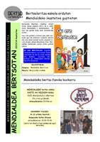 Mendialdeko urtekaria 2013-14