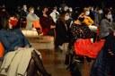 160 bertsozalek jarraitu zuten Getariako Cristóbal Balenciaga Museoan ospatutako Bertso Eguna. / XDZ