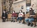 2021-02-05 Iruñea. Aitor Ugarte, Eukene De Los Aires, Bittori Elizalde eta Ekhiñe Zapiain. / XDZ