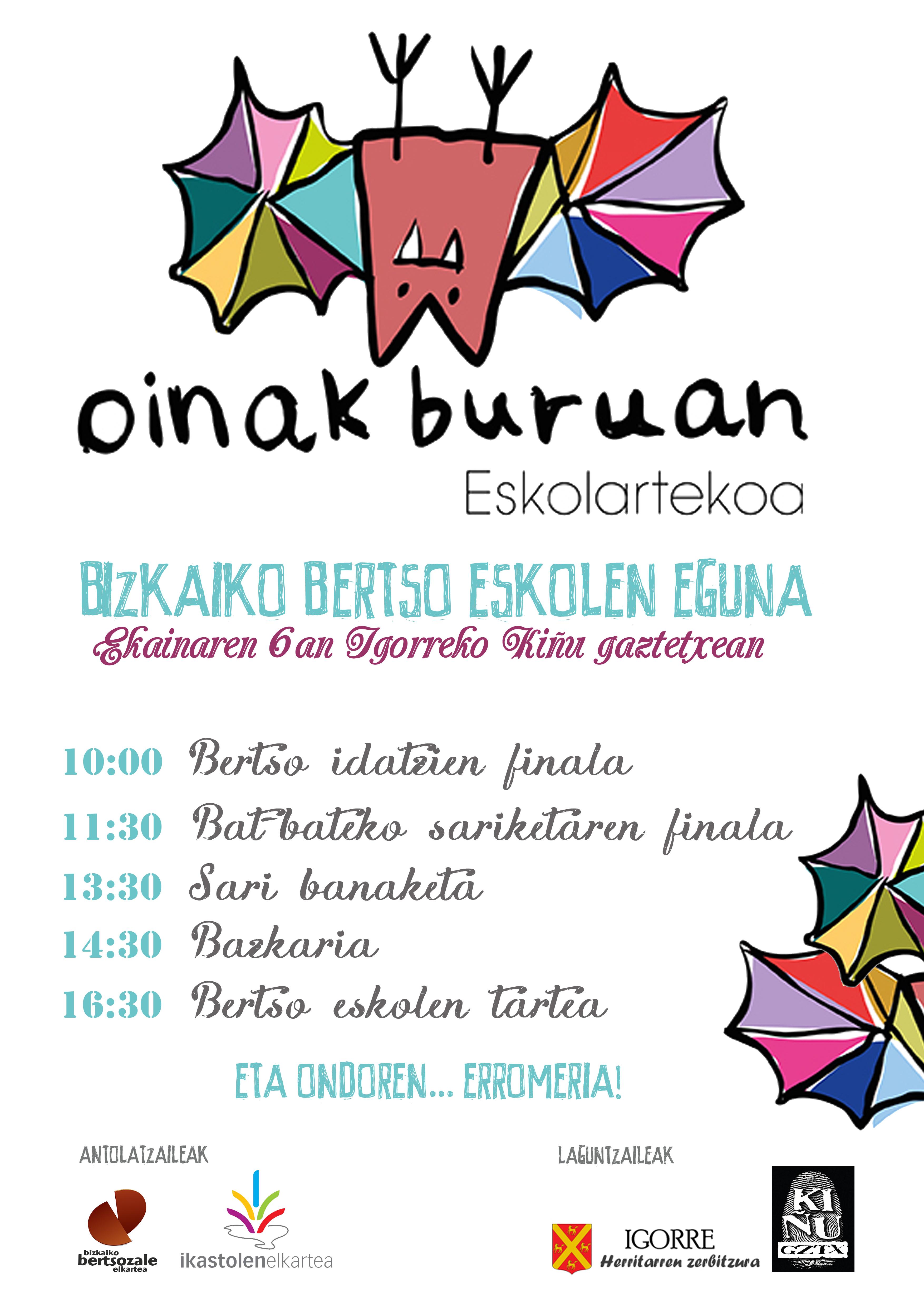 Bertso eskolen eguna eta eskolarteko finak2015-06-06