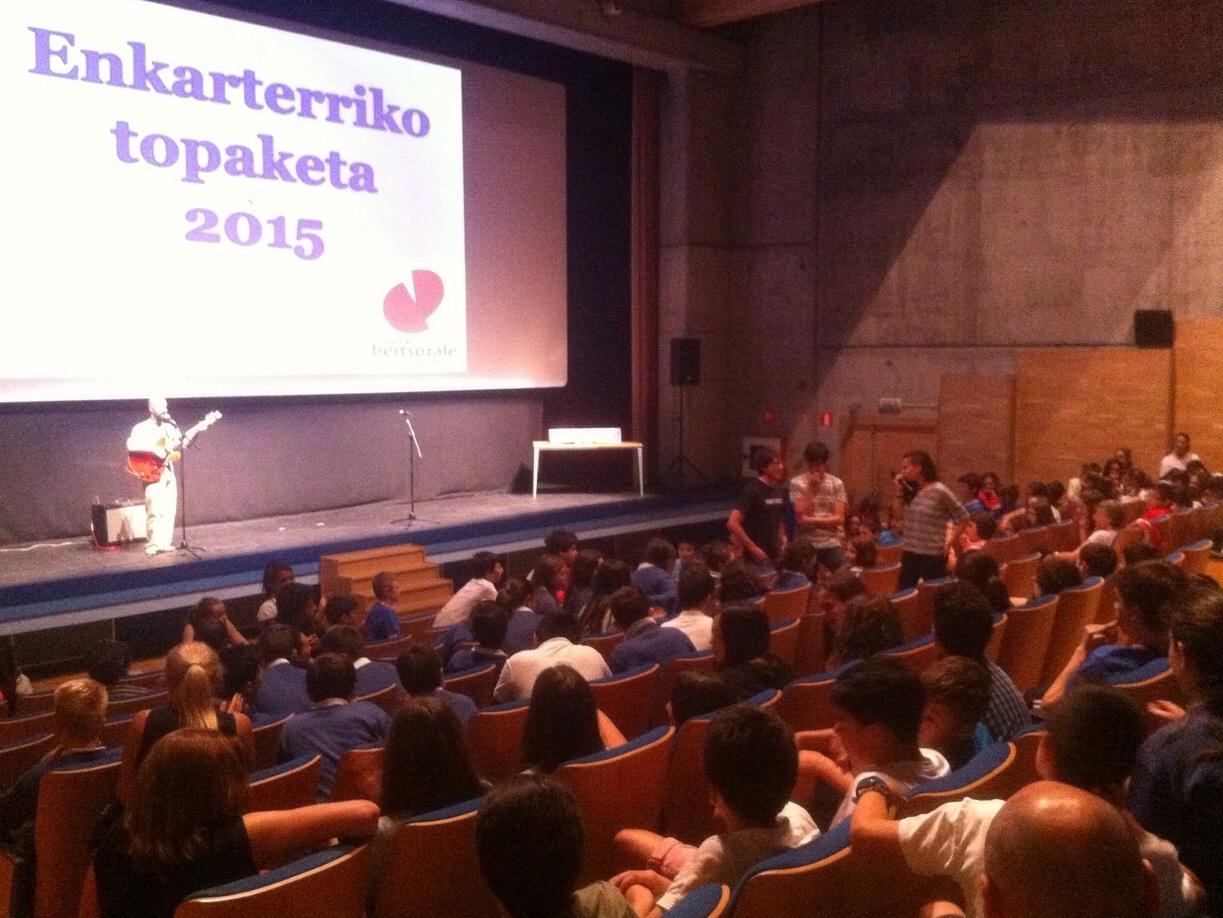 Enkarterriko Topaketa 2015. Zalla 2015-05-12
