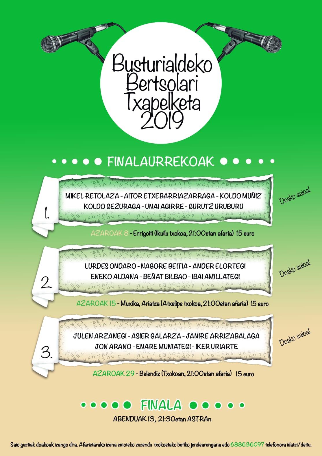 2019-11-08 Busturialdeko Txapelketa