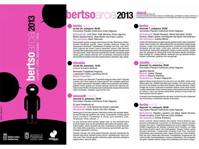 bertsoaroa 2013