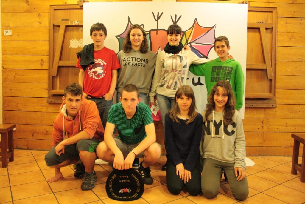 Eskolarteko Txapelketa 2015