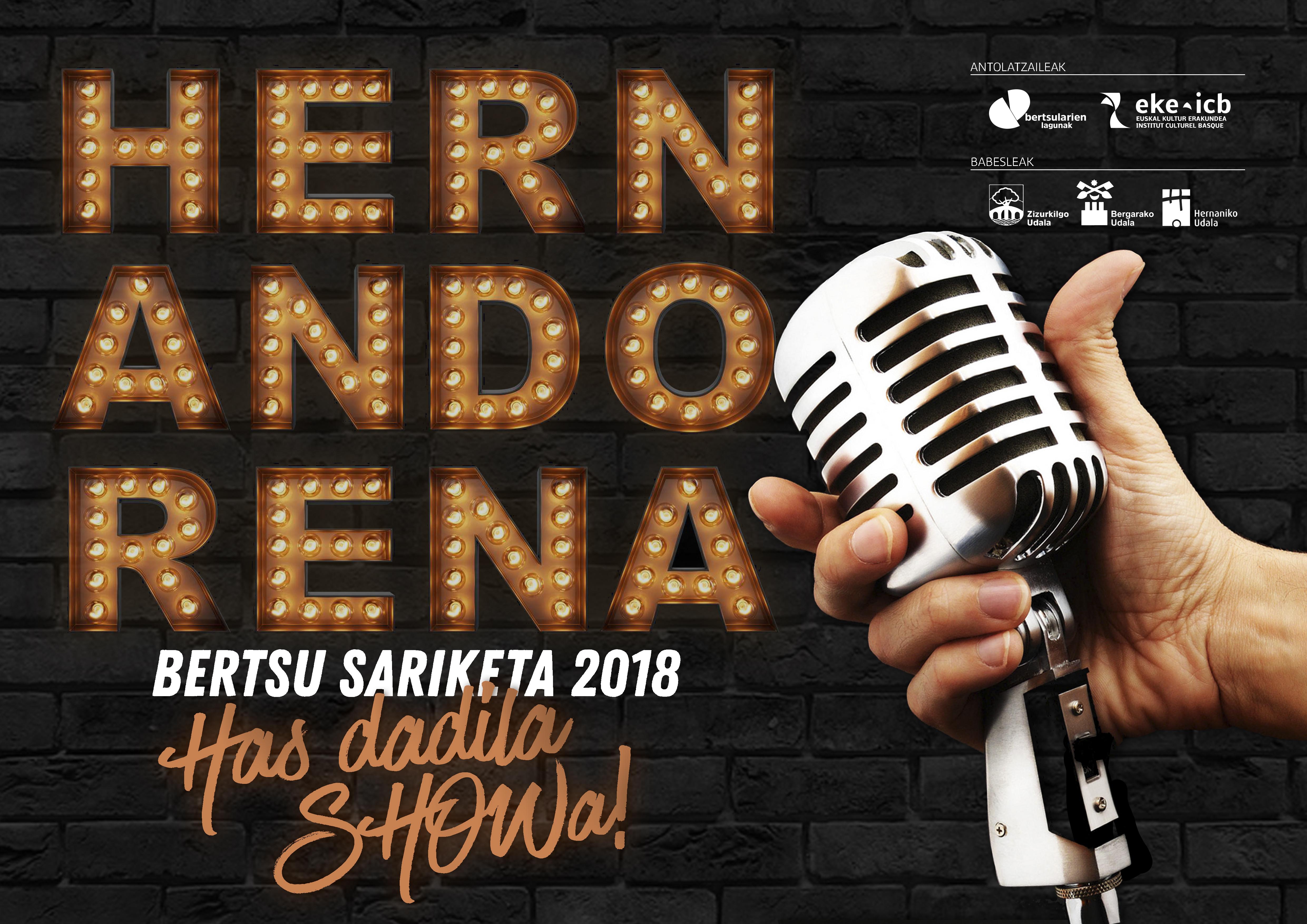 Ate joka dugu Hernandorena Bertsu Sariketa